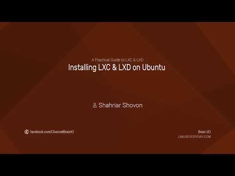 04.1. Installing LXC & LXD on Ubuntu 16.04+
