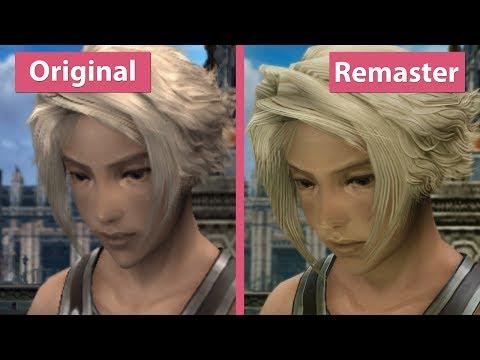 4K UHD   Final Fantasy XII – PS2 Original vs. The Zodiac Age Remaster on PS4 Pro Graphics Comparison