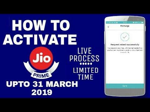 How to Activate Jio Prime upto 2019 ? : LIVE • Jio Prime Membership Renewal Steps • V Talk