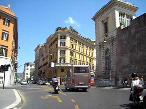 Taxi Ride to Termini (train station) in Rome