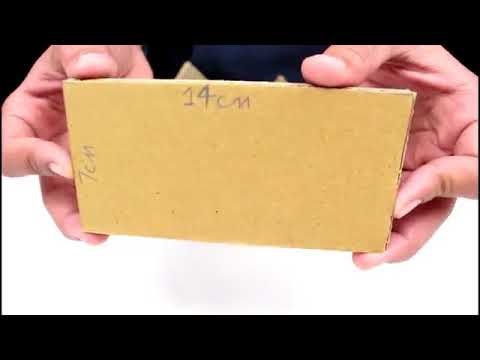 How To Make a Small Cardboard House BEAUTIFUL & EASY WAY   YouTube 360p