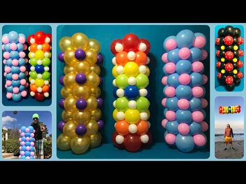 You Can Make Balloon Columns For Only $5!