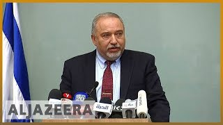🇮🇱Israeli Defence Minister Avigdor Lieberman quits over Gaza truce | Al Jazeera English