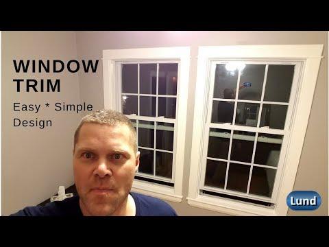 Installing Interior Window Trim (casing)