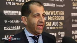 """Stephen Espinoza thought about putting MMA vs. Boxing fights on undercard """"End up w/short fights!"""""""