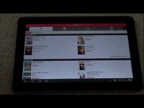 How To Get Netflix On A Galaxy Tab 10.1 (Or Android Tablet)