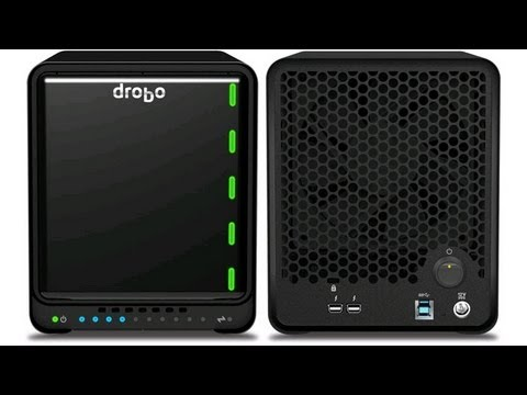 Drobo 5D setup & migrating HDDs