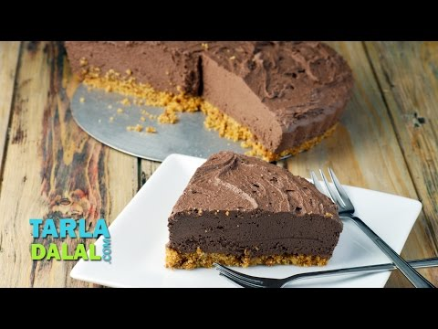 Chocolate Pie by Tarla Dalal