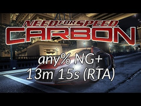 Need for Speed: Carbon / any% NG+ - 13m15s
