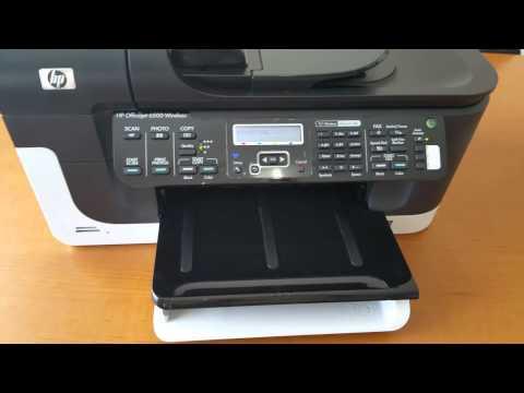 HP OFFICEJET 6500 wireless  E709n
