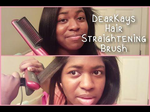 DearKays Best Electric Hair Straightening Brush
