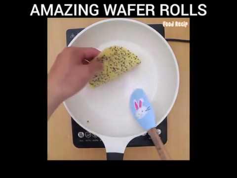 AMAZING WAFER ROLLS