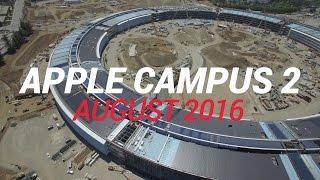 APPLE CAMPUS 2 August 2016 Construction Update 4K