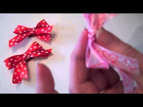 DIY Fast and Easy Dog, Cat or Baby Bows
