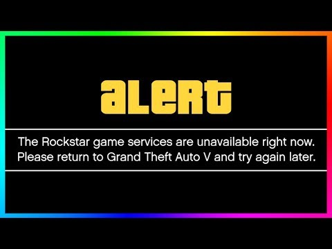 WARNING! GTA Online Servers Are DOWN! GTA 5 Goes OFFLINE ALL DAY (January 3rd 2018 Update)