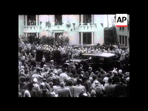 King and Queen at Chester - No Sound - 1946