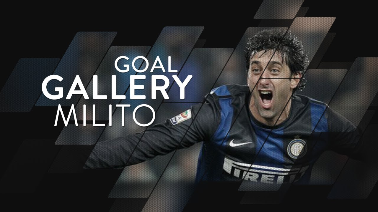 DIEGO MILITO | All of his 75 Inter goals 🇦🇷🖤💙