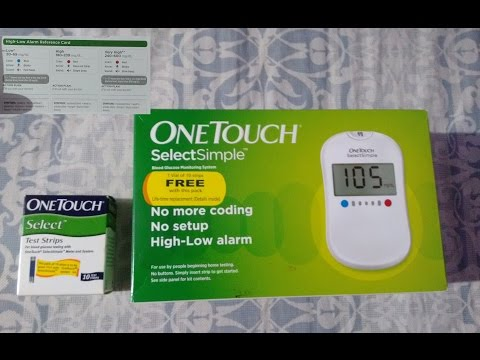 How to check blood sugar  at home with OneTouch