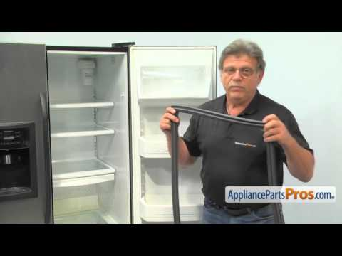 Refrigerator Fresh Food Door Gasket (part #WR24X23250) - How To Replace