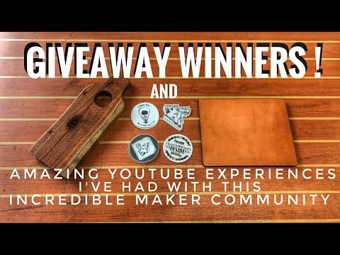 Giveaway Winners + This Amazing Community