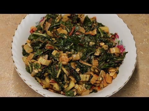 Swiss Chard Recipe with Michael's Home Cooking