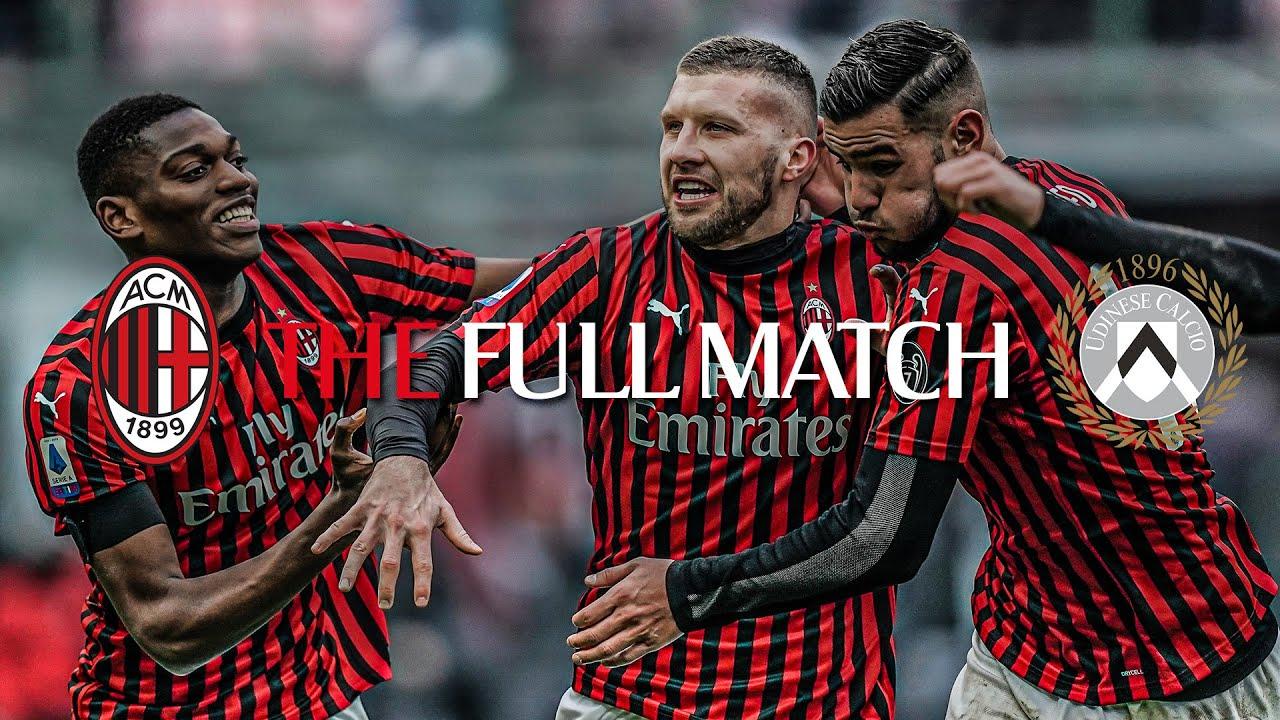 Full Match   AC Milan 3-2 Udinese   Serie A TIM 2019/20