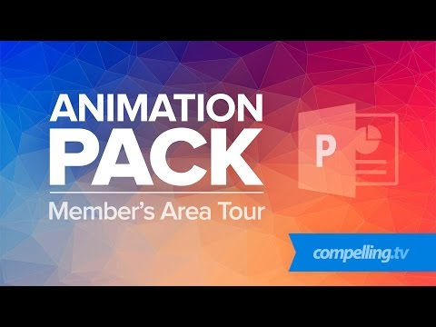Powerpoint Animation Pack - Members Area Tour