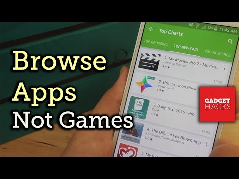 Remove Games from the Google Play Store for Better Browsing [How-To]