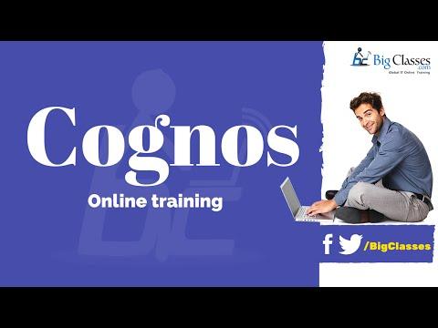 Cognos Training Tutorials for Beginners - Bigclasses