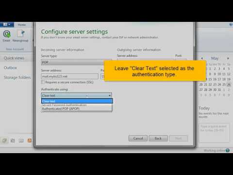 Windows Live Mail Setup Tutorial