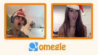 Trolling On Omegle CHRISTMAS Time