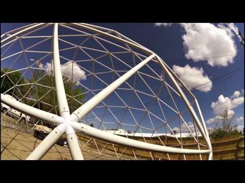 My Geodesic Dome Greenhouse