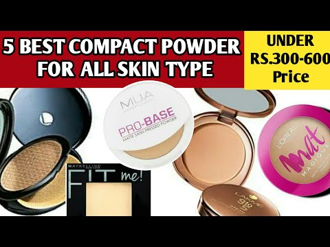 Compact powder:5 Best compact powder in india with price | Face powder for all skin types