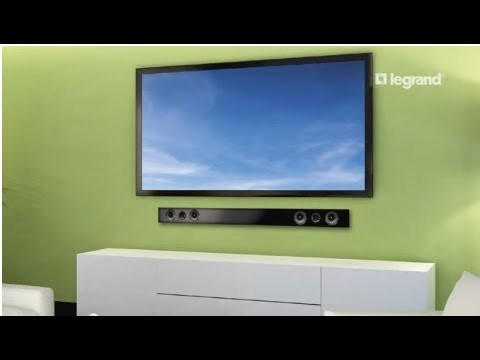 Wiremold: How to Install the Flat Screen Power Kit with Soundbar