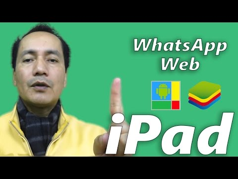 WhatsApp Web en Safari iPad WiFi | Windroye o Bluestacks | Tutorial Android