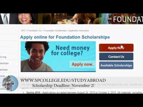 Apply for a study abroad scholarship at St. Petersburg College!