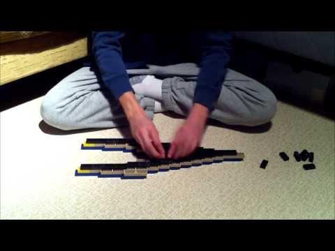 Building a Lego Futuristic Spaceship