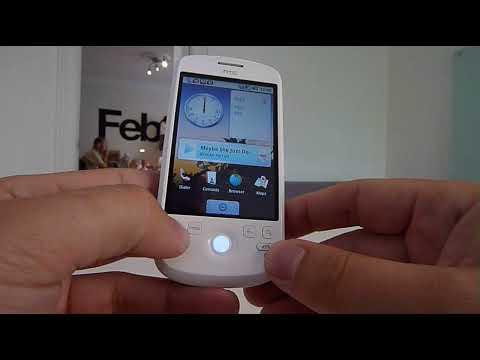 Liten genomgång av HTC Magic med Android 1.5