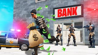 We ROBBED A BANK In FORTNITE! ($5,000,000 LOOT)