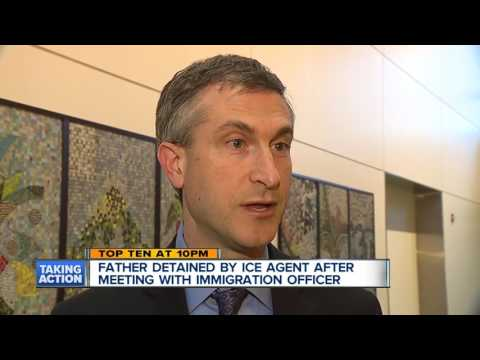 Father detained by ICE agent