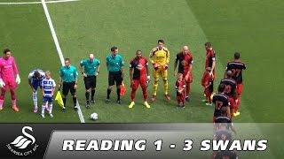 Swans TV - Highlights: Reading 1 - 3 Swansea City