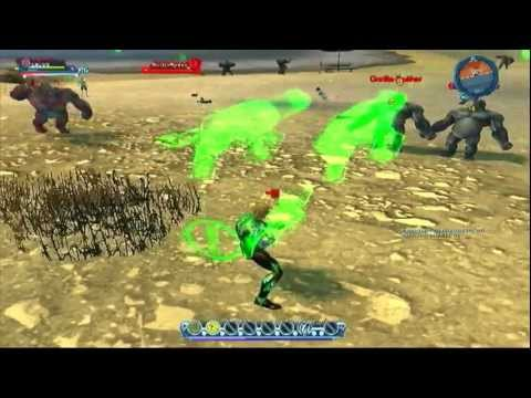 DC Universe Online - Gameplay mit NEWS: Green Lantern DLC & Free Server