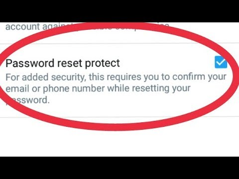 Twitter || Password reset Protect Enable in Twitter aacount