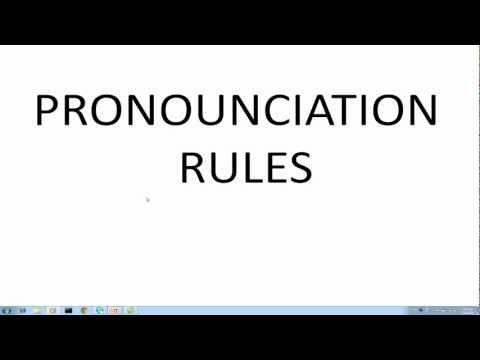 Learn Greek Lesson 2 Pronounciation Rules part1
