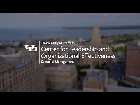 UB Center for Leadership and Organizational Effectiveness