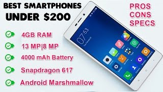 Best Smartphones Under $200 [New Phones Added]