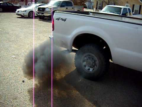 Powerstroke Black smoke