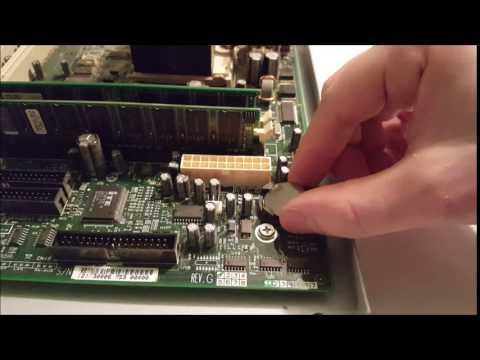 Replacing CMOS Battery on Desktop Motherboard