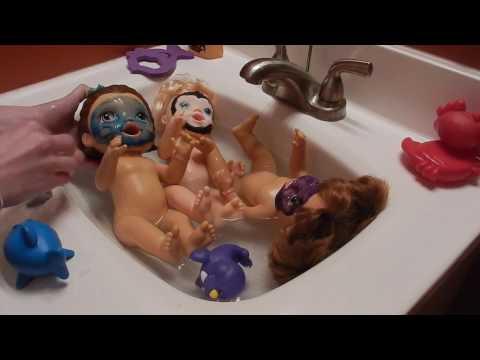 BABY ALIVE BATH FAIL! I MADE A BIG MISTAKE!