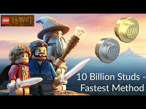 LEGO The Hobbit PS4 Fastest Method Unassessably Wealthy Trophy 10 billion studs